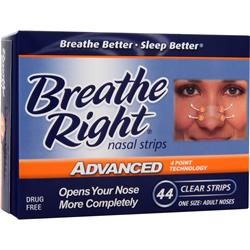 Breathe Right Breathe Right Nasal Strips Advanced Adult noses 44 strip