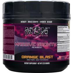 MGN Massive Growth Pre-Workout Orange Blast 225 grams