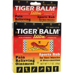 PRINCE OF PEACE Tiger Balm Ultra Sports Rub 1.7 oz