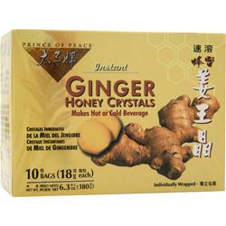 Prince of Peace Instant Ginger Honey Crystals 10 pckts