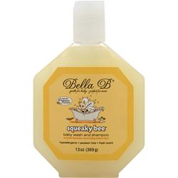Bella B Squeaky Bee - Baby Wash and Shampoo 13 oz