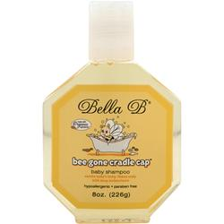 Bella B Bee Gone Cradle Cap - Baby Shampoo 8 oz