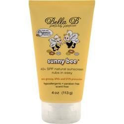 Bella B Sunny Bee - 40+ SPF Natural Sunscreen 4 oz