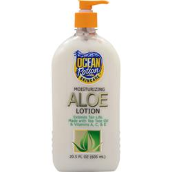 OCEAN POTION Moisturizing Aloe Lotion 20.5 fl.oz