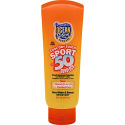 OCEAN POTION Cool Dry Touch Sport Sunblock - Oil Free SPF 50 8 fl.oz
