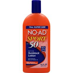NO-AD Sunblock Lotion SPF 45 16 fl.oz