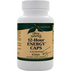 EUROPHARMA Terry Naturally - 12 Hour Energy Caps 30 sgels