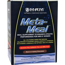 MRM Meta-Meal Rich & Creamy Chocolate 20 pckts