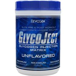 EVOGEN GlycoJect - Glycogen Injection Matrix Unflavored 2.2 lbs