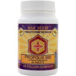 CC Pollen High Desert Propolis 500 60 tabs