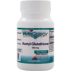 Nutricology Acetyl-Glutathione (100mg) 60 tabs