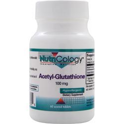 Nutricology Acetyl-Glutathione (100mg) 60 tabs