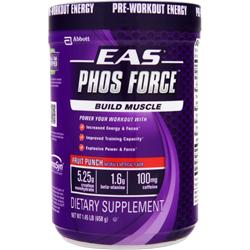 EAS Phos Force Fruit Punch 1.45 lbs