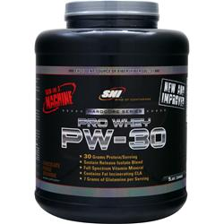 SNI Pro Whey PW-30 Hardcore Series Chocolate Fudge Brownie 5 lbs
