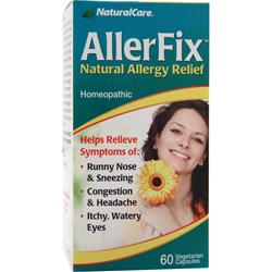NATURAL CARE AllerFix - Natural Allergy Relief 60 vcaps
