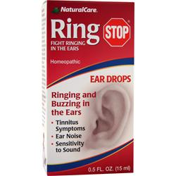 NATURAL CARE Ring Stop Ear Drops .5 oz