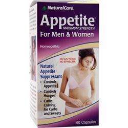 Natural Care Appetite For Men & Women - Maximum Strength 60 caps