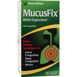 Natural Care MucusFix with Expectase 60 vcaps