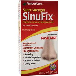 Natural Care SinuFix Nasal Mist (liquid) .5 oz