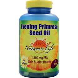 NATURE'S LIFE Evening Primrose Seed Oil 100 sgels