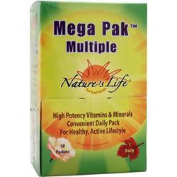 Nature's Life Mega Pak Multiple 30 pckts