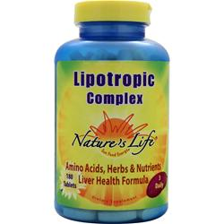 Nature's Life Lipotropic Complex 180 tabs