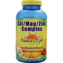 Nature's Life Cal/Mag/Zinc Complex 360 caps