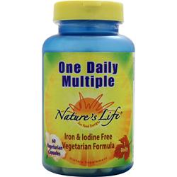 Nature's Life One Daily Multiple 60 vcaps