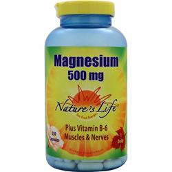 NATURE'S LIFE Magnesium (500mg) 250 caps