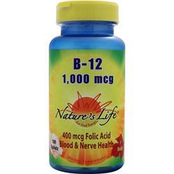 Nature's Life B-12 (1,000mg) 100 tabs