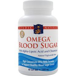 NORDIC NATURALS Omega Blood Sugar 60 sgels