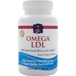 NORDIC NATURALS Omega LDL 60 sgels