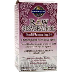 GARDEN OF LIFE Raw Resveratrol 60 vcaps