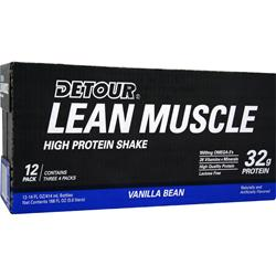 FORWARD FOODS Detour Lean Muscle High Protein Shake RTD Vanilla Bean 12 bttls