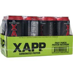 Designer Whey Xapp Carbonated Protein RTD - Caffeine Free 12 bttls