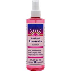 HERITAGE PRODUCTS Rose Petals Rosewater 8 fl.oz