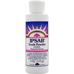 HERITAGE PRODUCTS IPSAB Tooth Powder Original Peppermint 4 oz