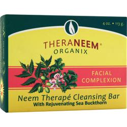 Theraneem Organix Neem Therape Cleansing Bar Facial Complexion 4 oz