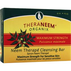 Theraneem Organix Neem Therape Cleansing Bar Maximum Strength 4 oz