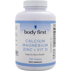 Body First Calcium Magnesium Zinc + Vit D 240 tabs