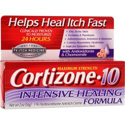 CHATTEM Cortizone-10 Intensive Healing Formula - Maximum Strength 2 oz