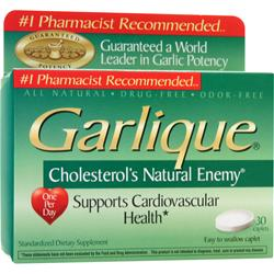 Chattem Garlique - Cholesterol's Natural Enemy 60 cplts