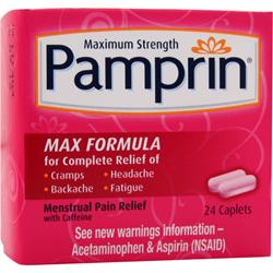 CHATTEM Pamprin Max Formula - Maximum Strength 24 cplts