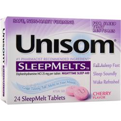 CHATTEM Unisom SleepMelts Cherry 24 tabs