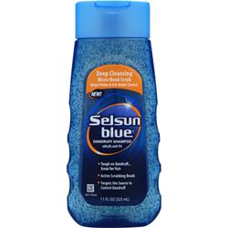CHATTEM Selsun Blue Dandruff Shampoo Scrub 11 oz