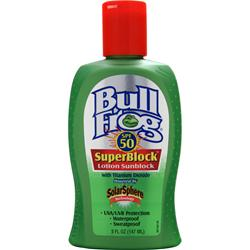 CHATTEM Bull Frog SuperBlock Lotion Sunblock 5 oz