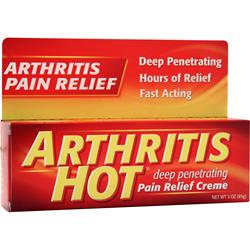 CHATTEM Arthritis Hot Pair Relief Creme 3 oz