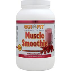 Sci-Fit Muscle Smoothie Delicious Raspberry 3 lbs