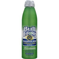 BULL FROG Marathon Mist Continuous Spray Sunblock SPF 50 6 fl.oz