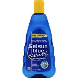 Chattem Selsun Blue Naturals Dandruff Shampoo Itchy Dry Scalp - Citrus 11 oz